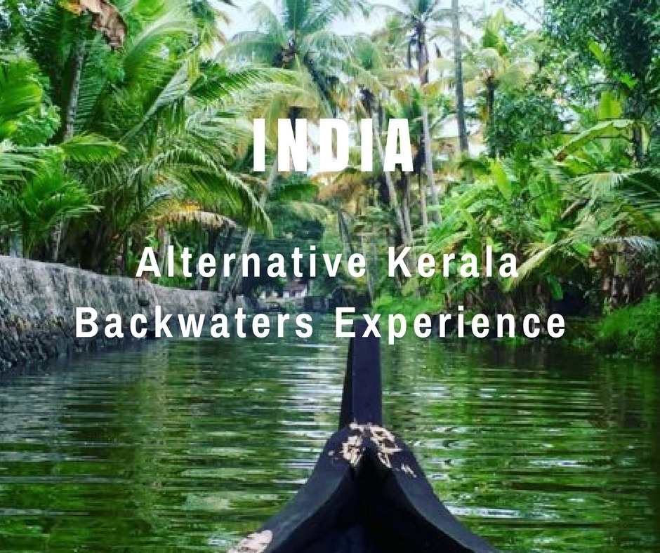 Canoe trip an Alternative Kerala backwaters experience in Alleppey, India