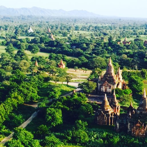 View from Bagan Viewing Tower