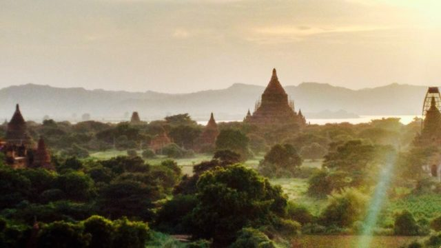 View from Bagan Viewing Tower Myanmar