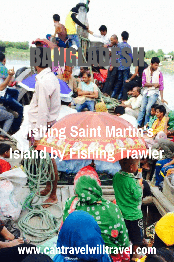 Visiting Saint Martin's Island by Fishing Trawler