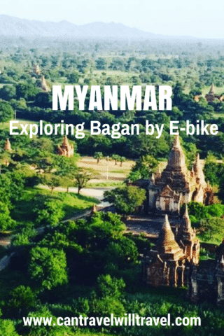exploring temples of bagan by e-bike, myanmar (burma)