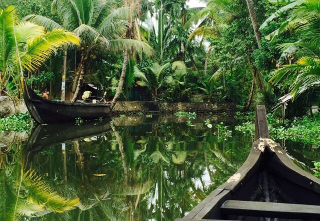 Kerala backwater canoe trip reflections