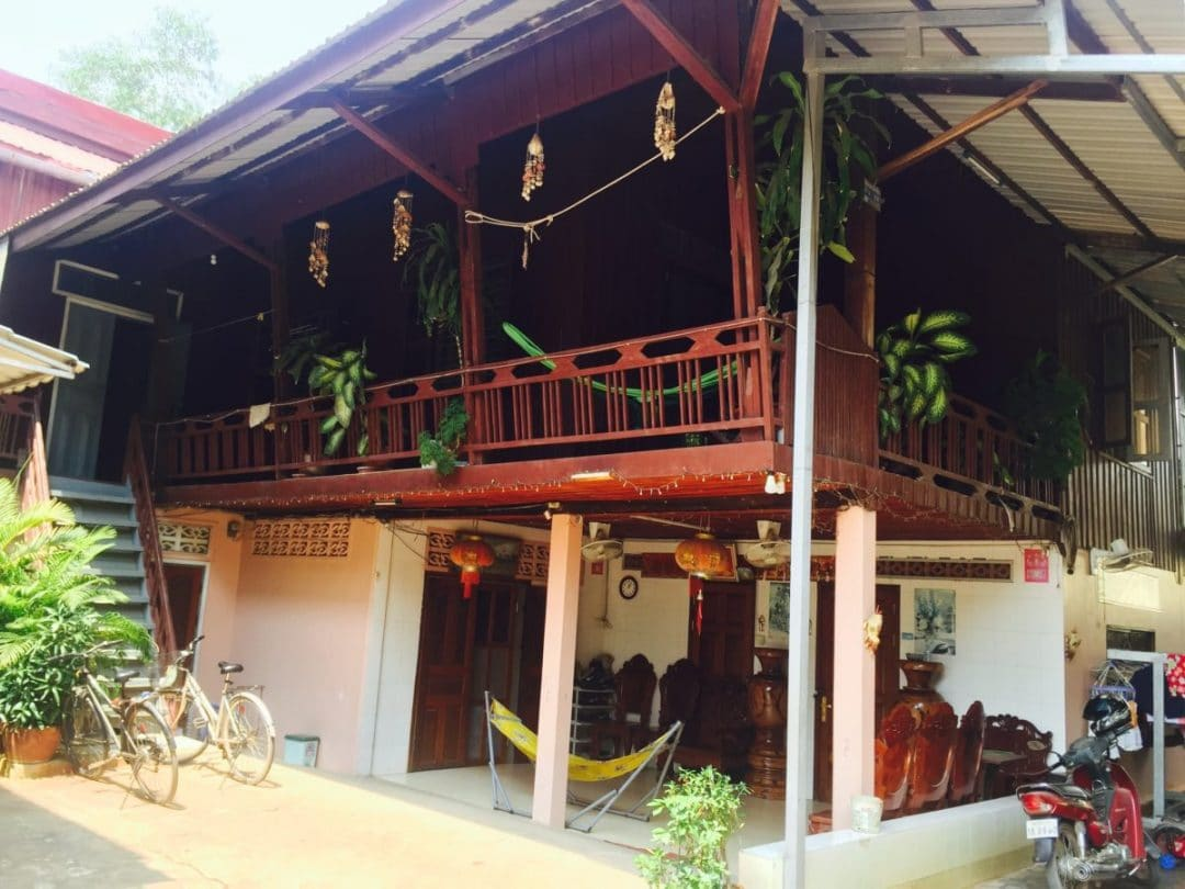 Wooden Khmer House On Stilts Living and Working in Siem Reap