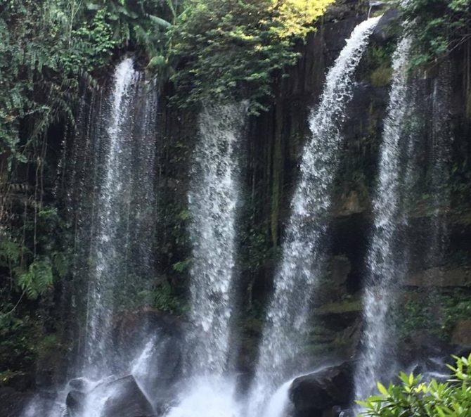 Kulen Mountain Waterfall, Phnom Kulen National Park, Cambodia