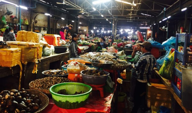 Local Old Market Siem Reap Cambodia