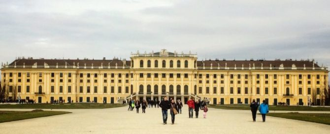 Schonbrunn Palace Vienna Austria Most Romantic Destination