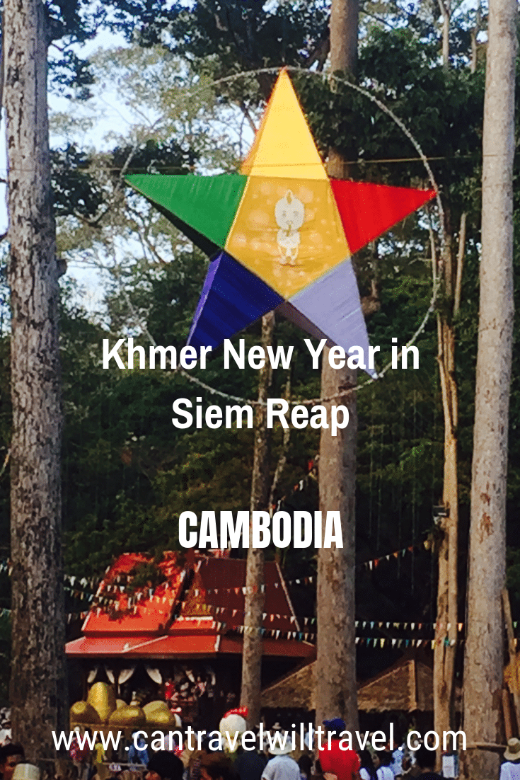 Khmer New Year in Siem Reap, Cambodia
