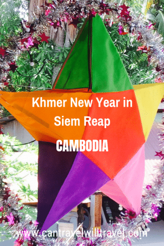 Khmer New Year in Siem Reap, Cambodia, Pin2