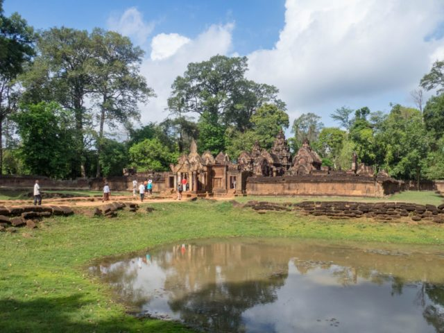 Banteay Srei Temple - Angkor Archaeological Park in Siem Reap, Cambodia