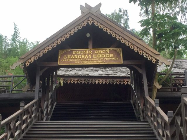 Luang Say Lodge in Pakbeng, Laos