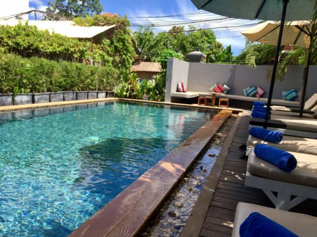 Baby Elephant Boutique Swimming Pool in Siem Reap, Cambodia