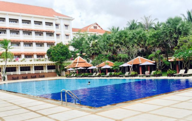 Royal Angkor Resort Swimming Pol in Siem Reap, Cambodia
