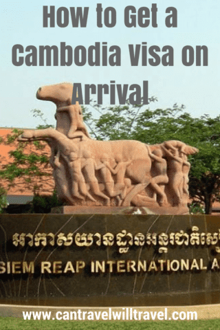 How to Get a Cambodia Visa on Arrival Pin3
