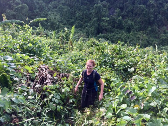 Tough valley climb with Hai's Eco Tours in Phong Nha, Vietnam