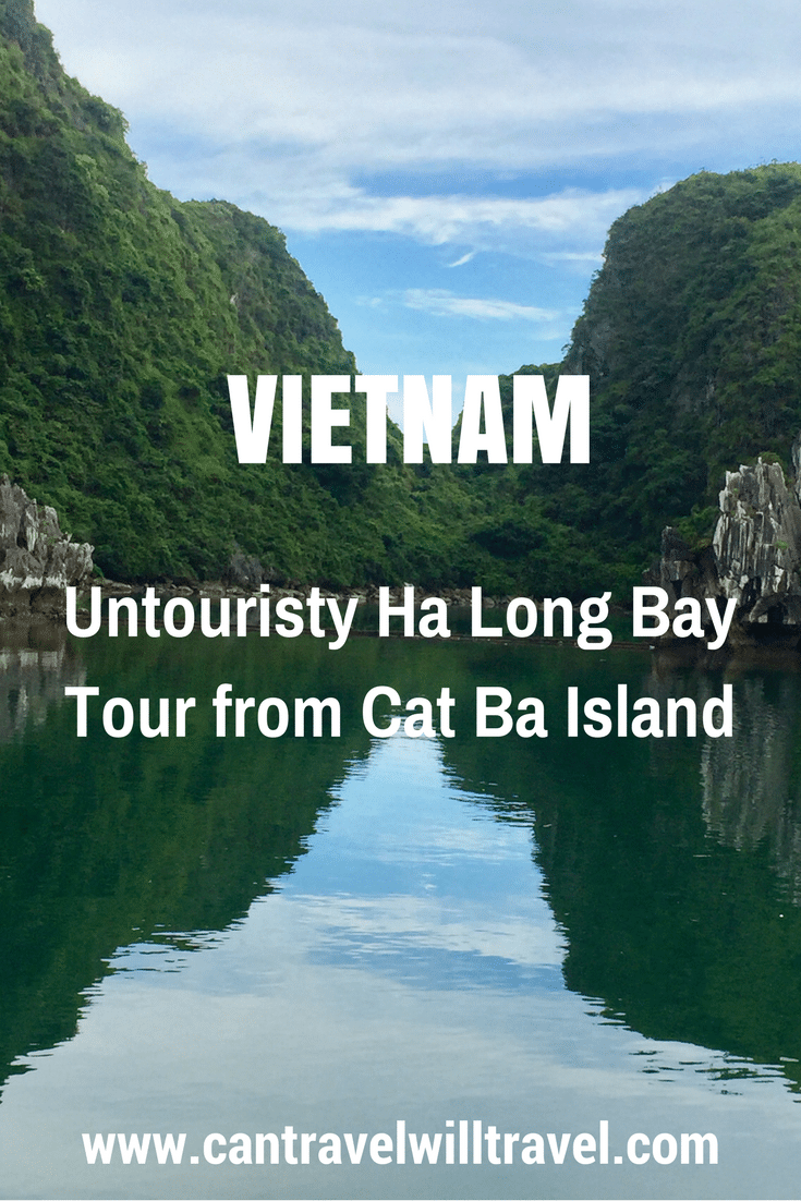 Untouristy Ha Long Bay Tour from Cat Ba Island with Cat Ba Ventures