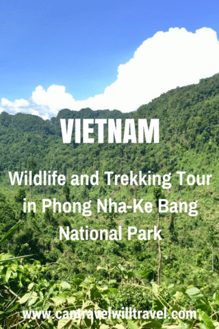 Wildlife and jungle trekking tour in Phong Nha-Ke Bang Nationa Park, Vietnam