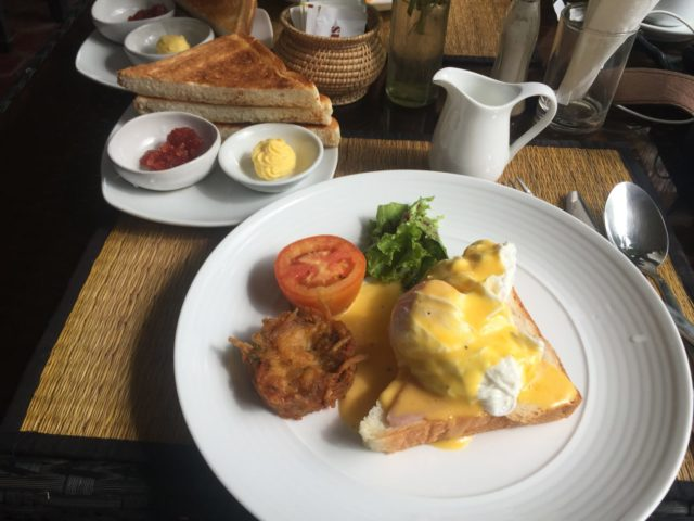 Breakfast at Baby Elephant Boutique Hotel in Siem Reap