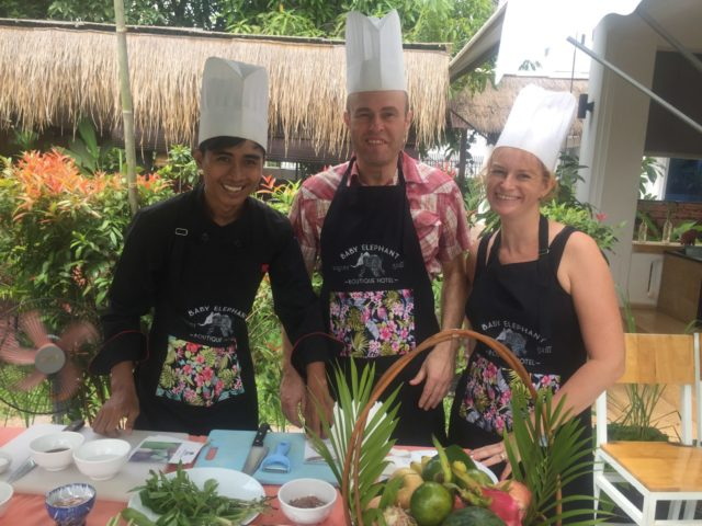 Cambodian Cooking Class at Baby Elephant Boutique Hotel in Siem Reap