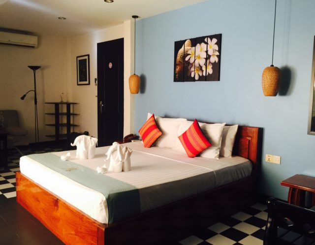 Premier Double Room at Baby Elephant Boutique Hotel in Siem Reap, Cambodia