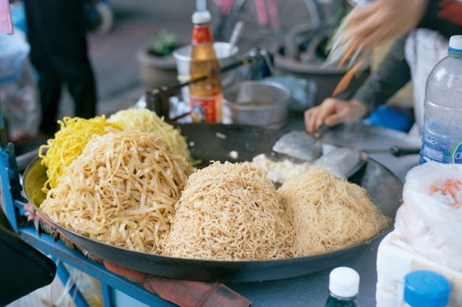 Types of Thai Noodles