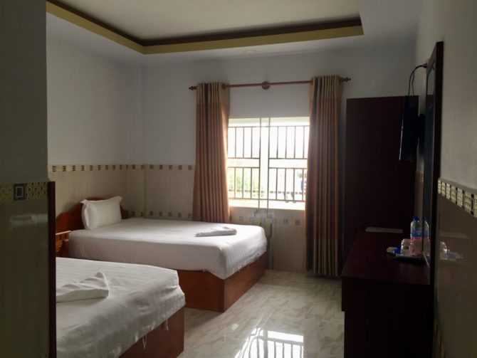 Superior Twin Room Nathy Koh Kong Hotel in Cambodia