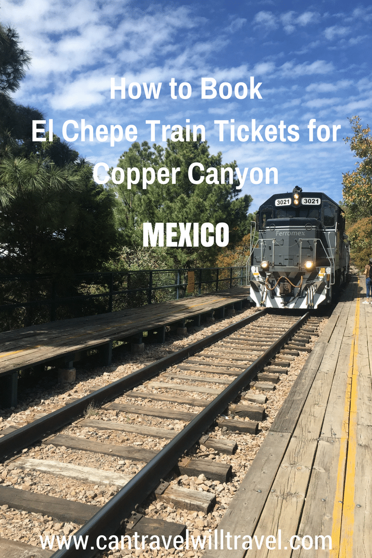 Book El Chepe Train Tickets for the Copper Canyon. Pin1