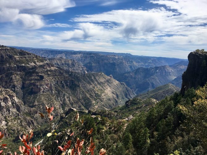 Copper Canyon Railway View, Mexico