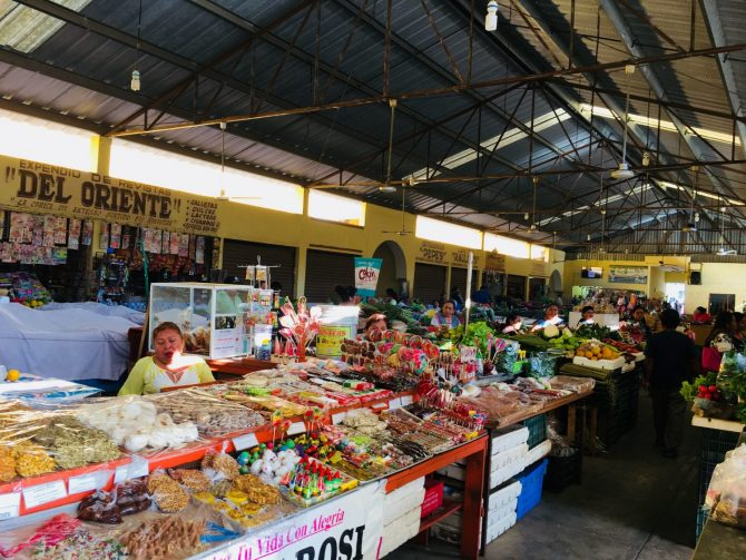 Sweets and Desserts at the Local Market in Valladolid, Mexico