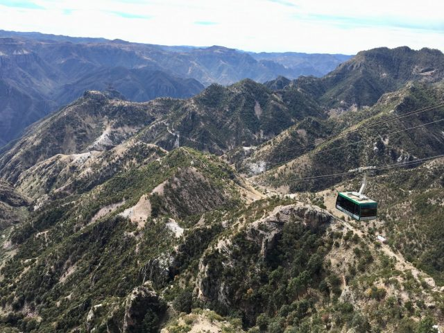 Cable Car at Copper Canyon Adventure Park, Mexico