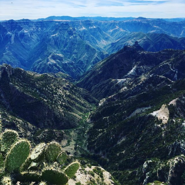 Copper Canyon Adventure Park View in Mexico