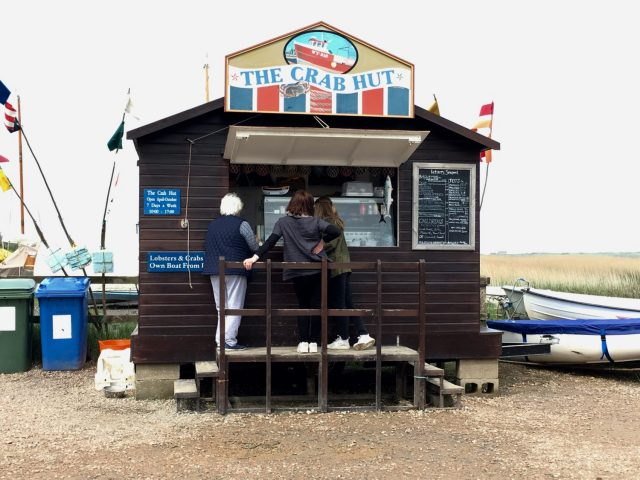 Seafood Hut in Brancaster Staithe, Norfolk