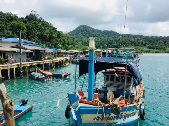 Ao Yai Fishing Village on Koh Kood in Thailand