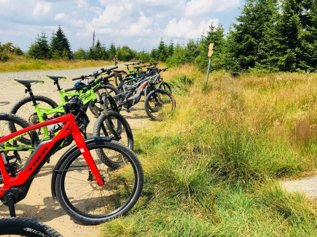 Electric Mountain Biking in Sumava National Park