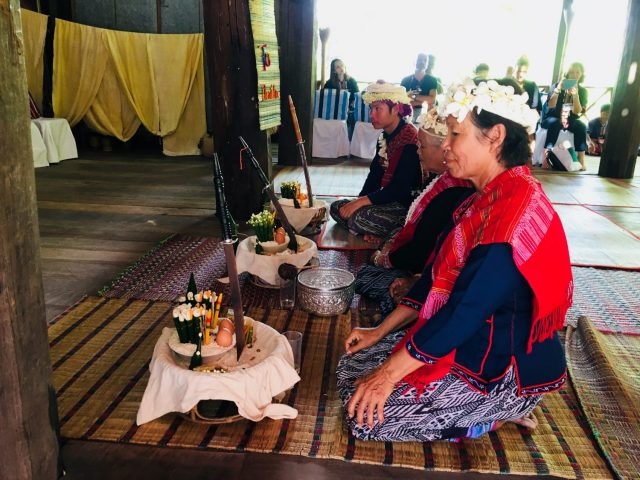 Shamen Ceremony in Tribal Village near Nakhon Phanom