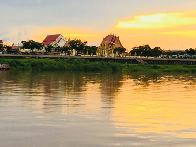 Sunset River Cruise in Nakhon Phanom, Thailand