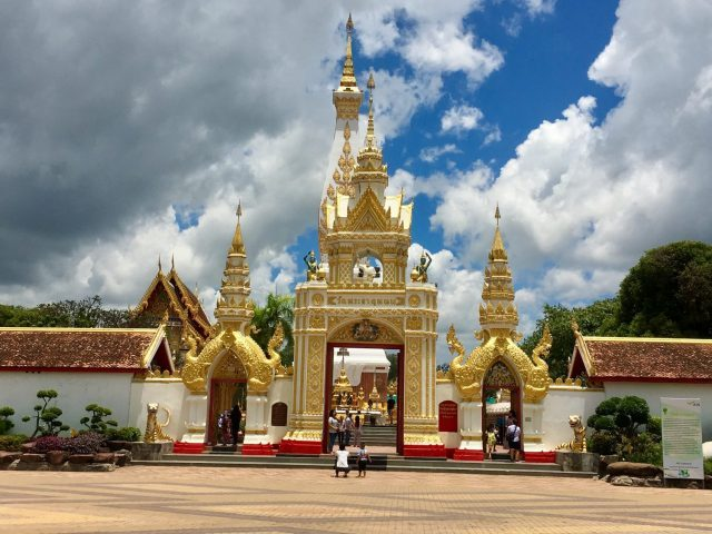 Wat Phra That Phanom in Thailand