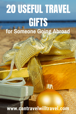 20 Useful Travel Gifts for Someone Going Abroad Pin1