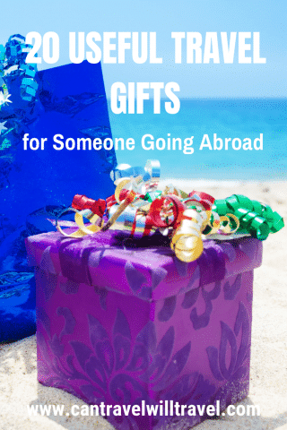 20 Useful Travel Gifts for Someone Going Abroad Pin2