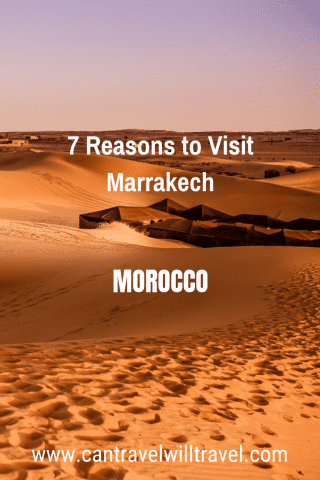 7 Reasons to Visit Marrakech, Morocco Pin2