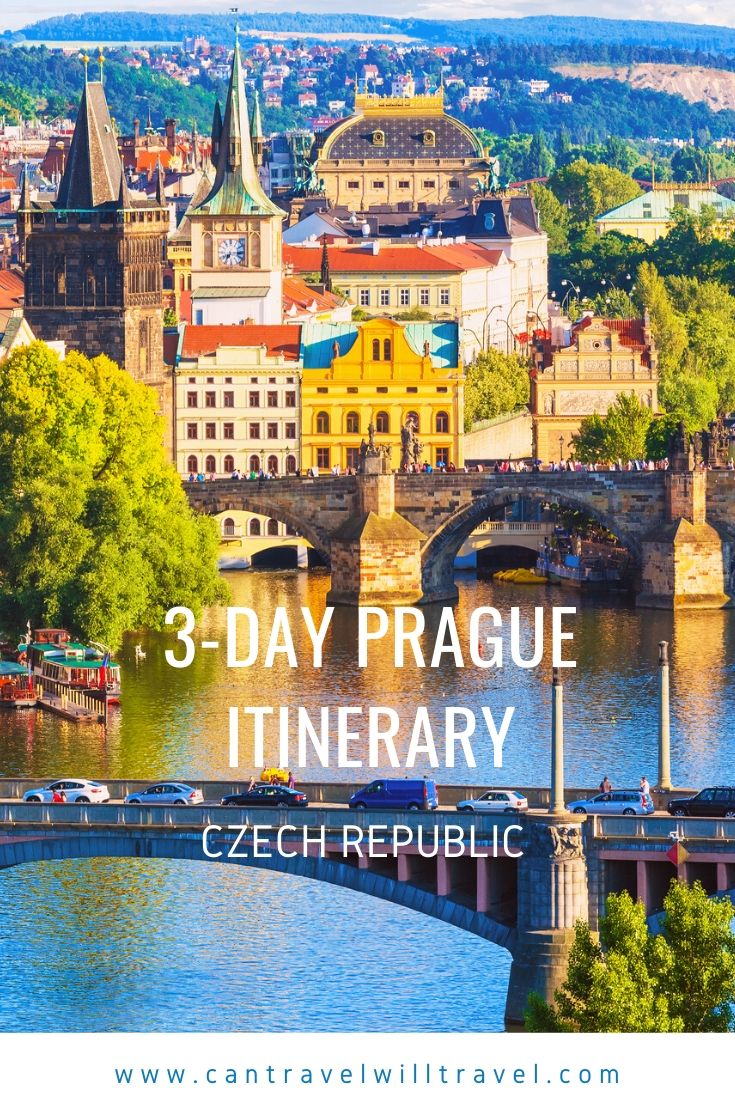 3-Day Prague Itinerary, Czech Republic Pin1
