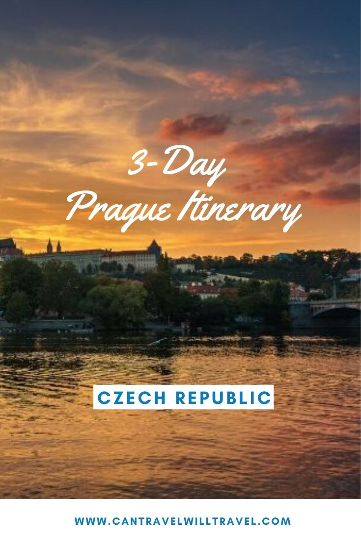 3-Day Prague Itinerary, Czech Republic Pin3