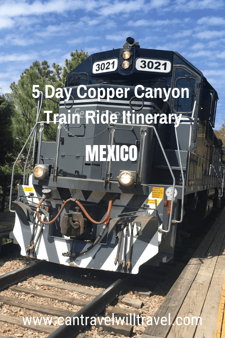5-Day Copper Canyon Train Ride Itinerary, Mexico, Pin2