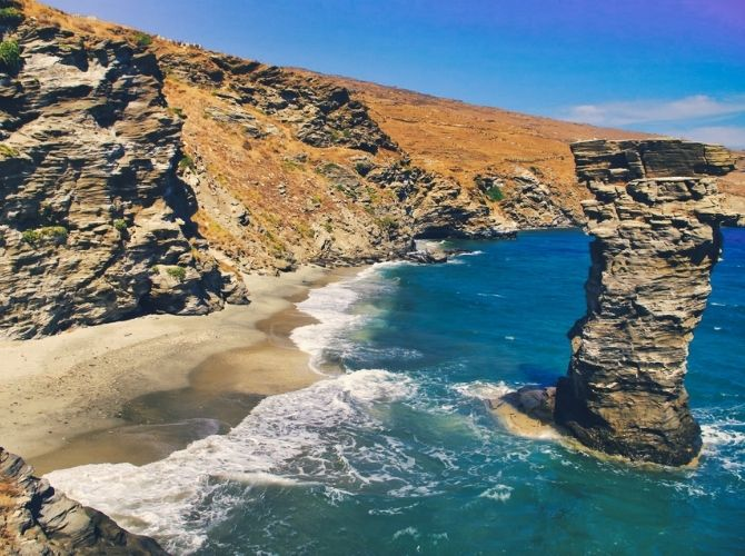 Andros, Cyclades Islands in Greece