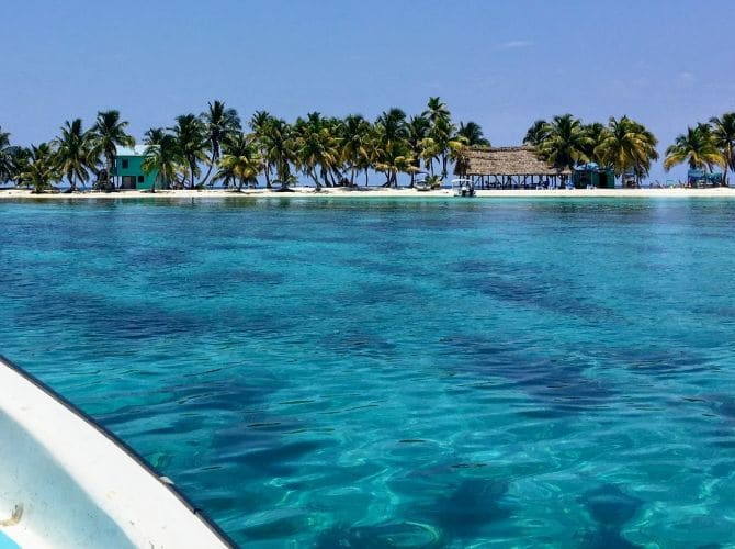 Caye Hopping from Placencia, Belize