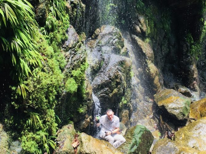 El Bejuco Waterfall in Pico Bonito National Park