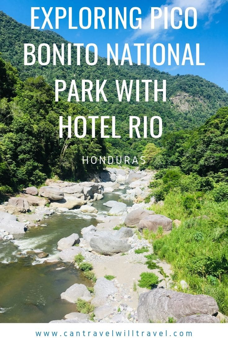 Exploring Pico Bonito National Park with Hotel Rio in Honduras Pin1