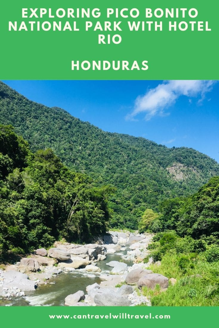 Exploring Pico Bonito National Park with Hotel Rio in Honduras Pin2
