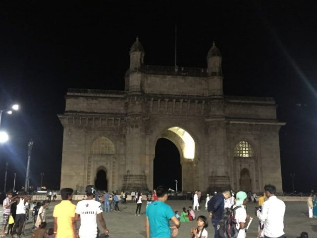 Gateway of India in Coloba, Mumbai