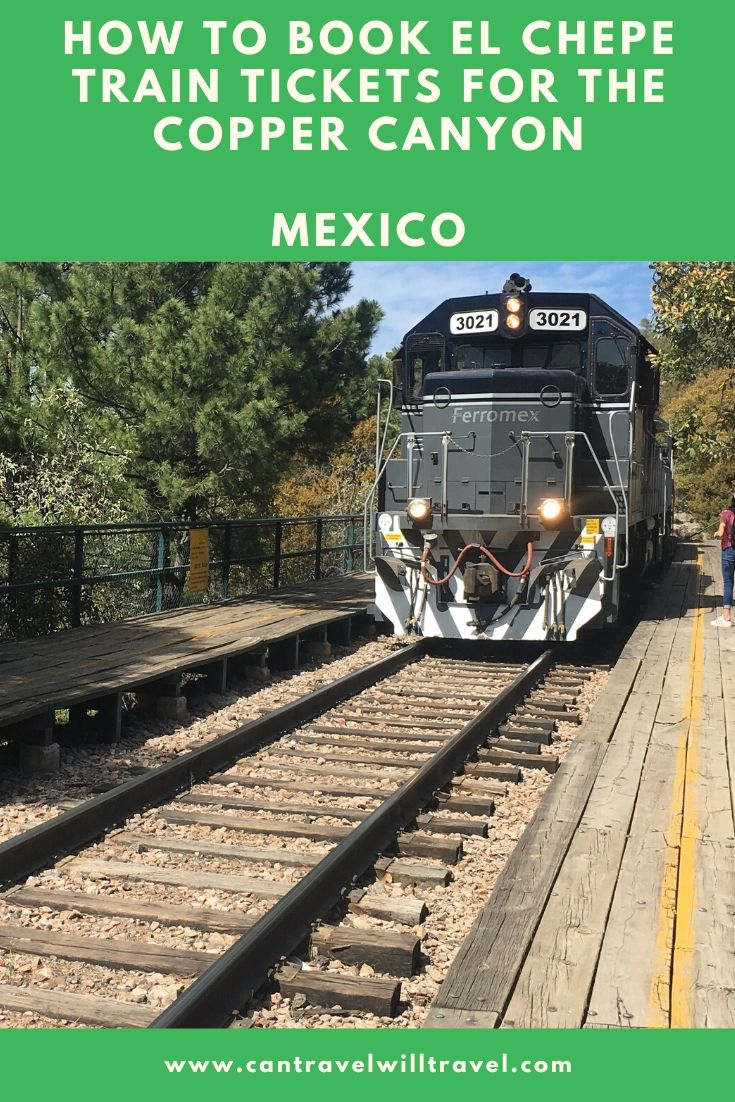 How to Book El Chepe Train Tickets for the Copper Canyon, Mexico Pin4
