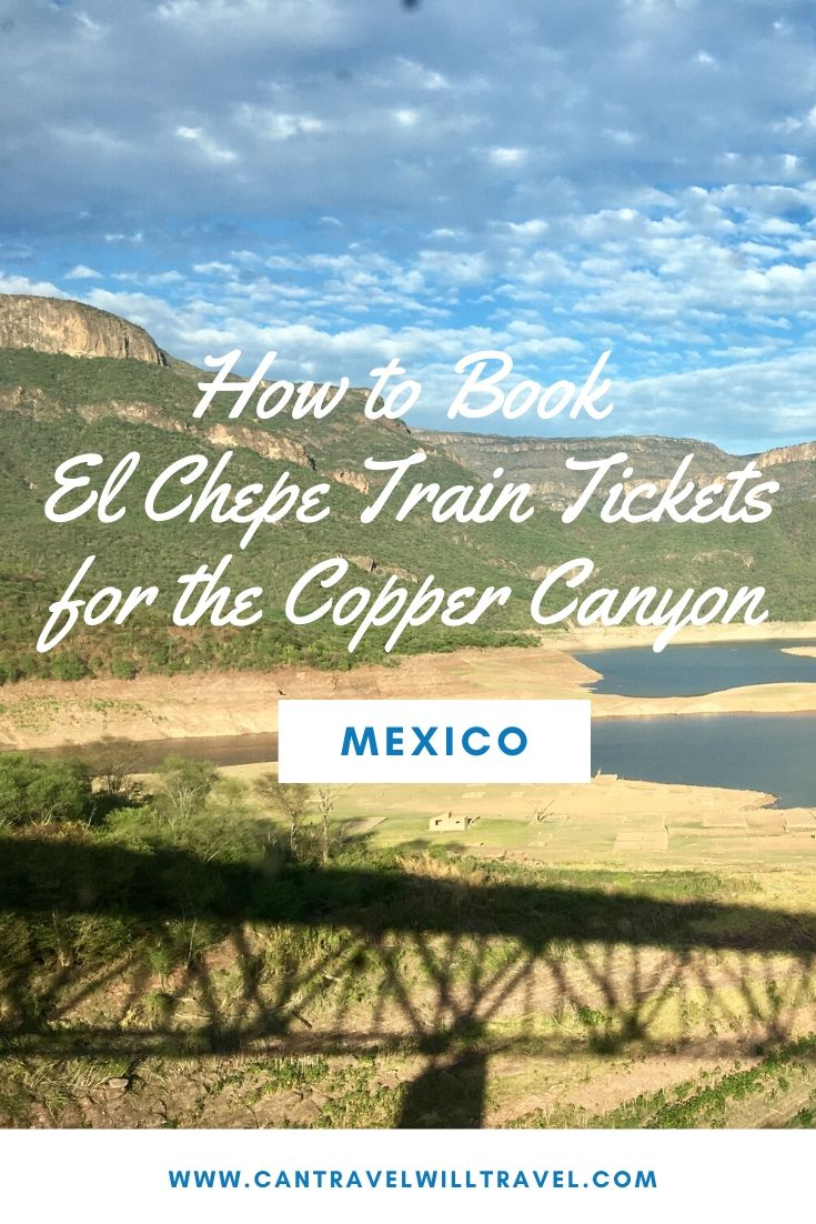 How to Book El Chepe Train Tickets for the Copper Canyon, Mexico Pin5